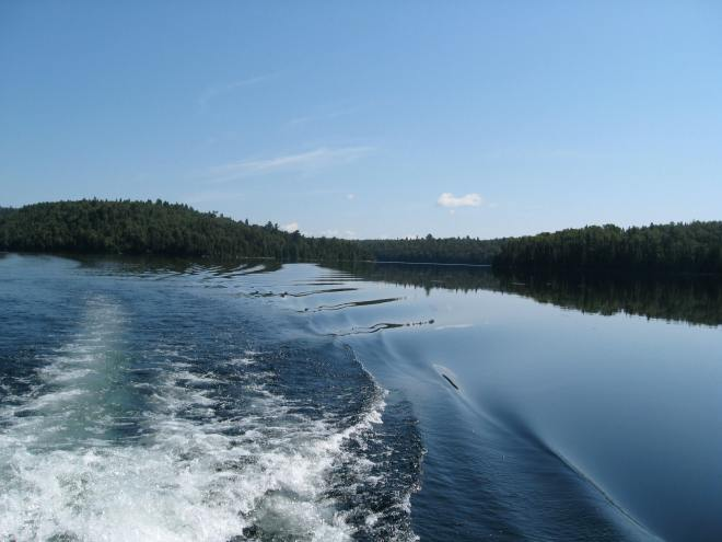 Original photo for my blog header, Ranger Lake, Ontario Canada